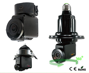 Witson 1080P 2.0 Megapixel P2p Panoramic Smart IP Camera with Bulb Power Supported pictures & photos