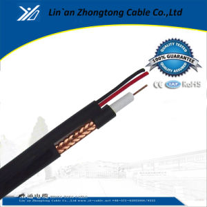 Rg59 CCTV Cable with BNC and DC Power for Security Camera