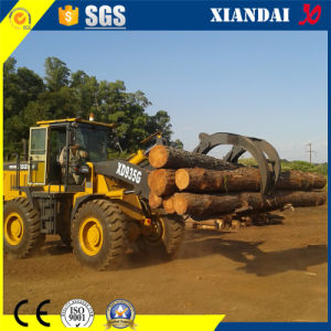 Agent Want Top Quality 3t Wood Grab Loader for Forest Work pictures & photos