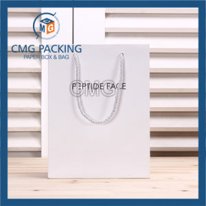Elegant White Matt Promotion Paper Bag with Logo (CMG-MAY-047) pictures & photos