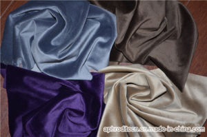 100% Polyester Uphostery Velour Fabric for Sofa and Curtain Fabric pictures & photos