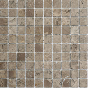 Brown Marble Mosaic, Mosaic Tiles and Square Mosaic pictures & photos