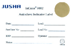Jusha Steam Sterilization Indicator Label, Autoclave Indicator, Hospital Consumables pictures & photos