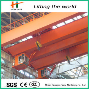Hot Sale Double Girder Overhead Traveling Crane 50t pictures & photos