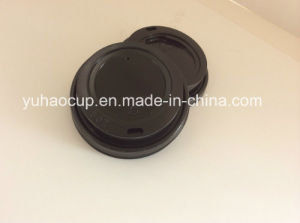 Black Coffee Cup Lid/Cover (YH-L284) pictures & photos