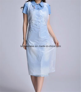 PE Plastic Disposable Kitchen Apron pictures & photos