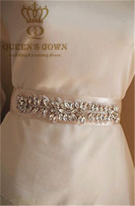 Bride Wedding Dress Rhinestone Belts, DIY Accessories pictures & photos