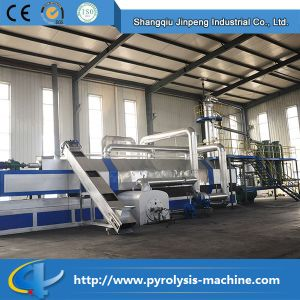 2016 Environmental Protection Plastics to Diesel Oil Recycling Pyrolysis Machine Plant for Sale pictures & photos