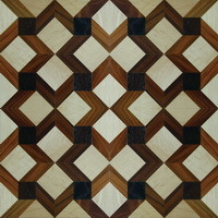 Maple, Teak, Walnut Art Splicing Multi-Layer Parquet Floor pictures & photos