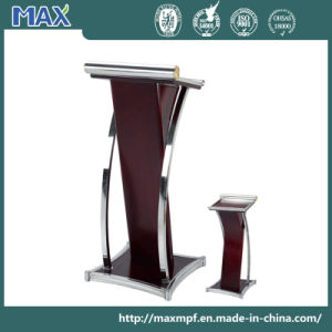 Stainless Steeel Wooden Collapsible Reception Podium pictures & photos