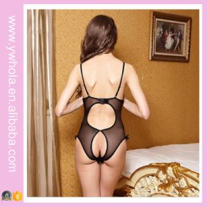 Sexy Girls Exposed Open Big Breast Transparent Lingerie for Women pictures & photos