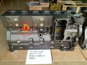 Komatsu Excavator PC300-7/SA6d114 Cylinder Block pictures & photos