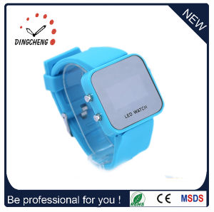 Customize Mirror LED Watch, Cheap Watch, Silicon Watch, Bracelet Watch, Sport Watch (DC-356) pictures & photos