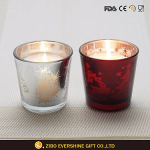 Hot Sale Decorative Electroplated Candle Holder pictures & photos