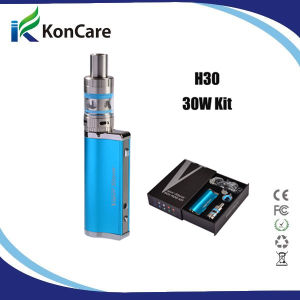 Free Shipping Support OEM Service Koncare Vapor Storm VW Mod, 2200mAh, 7-30W Mod Mini 30W Mod H30 Kit with Ec Tank2 in Stock