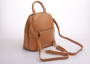 New High Quality Leather Backpack with Antimagnetic Pouch (B201) pictures & photos
