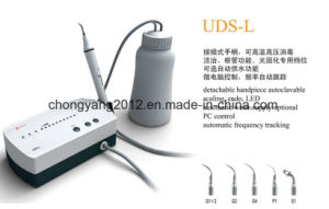Foshan Compass Woodpecker Electric Ultrasonic Scaler with Water Bottle pictures & photos