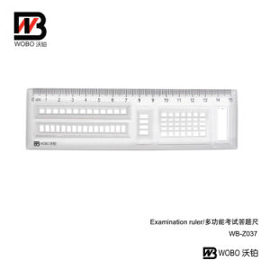2016 Examination Stationery Plastic Ruler for Office Drawing pictures & photos