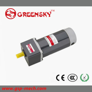 GS High Efficient 200W 90mm 24V 3500rpm DC Gear Motor for Hot Selling pictures & photos