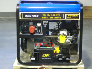 KAIAO 10kVA Air Cooled Diesel Generator KDE12E3 Double Cylinder Engine pictures & photos