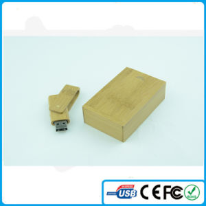China Customized Logo Wooden Material USB Stick 8GB