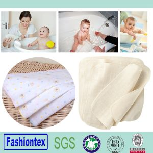 Muslin Cloth Hand Towel Cotton Printed Muslin Fabric pictures & photos