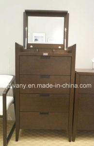 American Modern Style Wooden Mirror Dresser Cabinet (SM-D34) pictures & photos