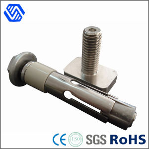 High Stength Steel Zinc Plated Half Thread Hilti Anchor Bolt pictures & photos