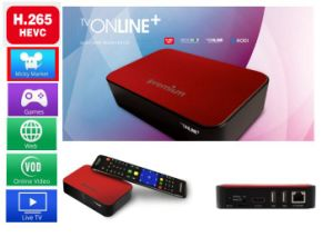 Ipremium Mini TV Box with High Definition and H. 265 Hevc pictures & photos