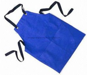 Lady Beautiful PVC Printed Kitchen Work Apron pictures & photos