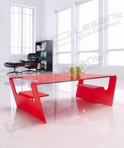 Modern Bent Glass Center Table pictures & photos