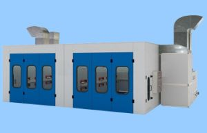 Auto Maintenance Painting Large Spray Booth with Drying Treatment pictures & photos