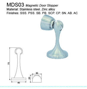 Stainless Steel Magnetic Door Stopper Rubber Stopper pictures & photos