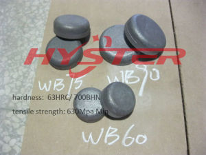 Industrial Wear Components White Iron Wear Buttons (WB90) pictures & photos