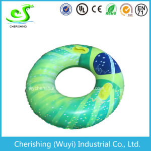 PVC Green Inflatable Adelt Swim Ring pictures & photos