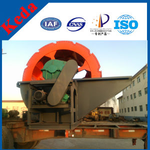 Wheel Bucket Sand Washing Machine pictures & photos