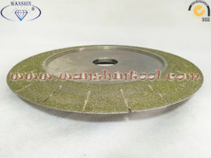 Diamond Electroplated Profiling Wheel for Marble Limestone pictures & photos
