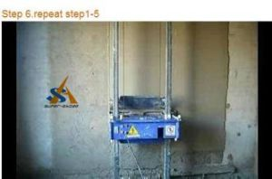 Wall Plastering Machine pictures & photos
