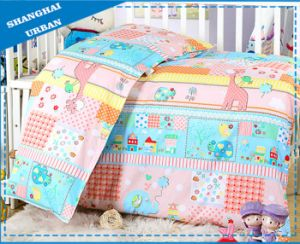 Cartoon 100%Cotton Baby Bedding Duvet Cover (set) pictures & photos