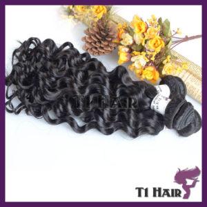 Deep Wave Beauty Weaving Brazilian 7A Human Hair pictures & photos