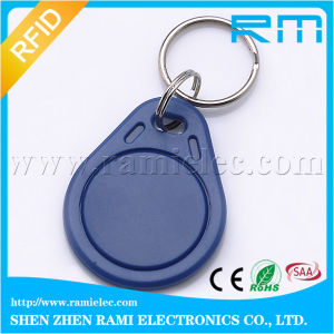 125kHz/13.56MHz Writable RFID Key Tag Keyfob for Access Control Door Entry