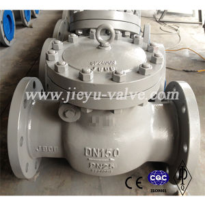 Pn25 Dn150 Carbon Steel Wcb Swing Check Valve pictures & photos
