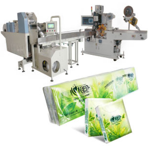 Pocket Tissue Machine (Embossing Folding Cutting) pictures & photos