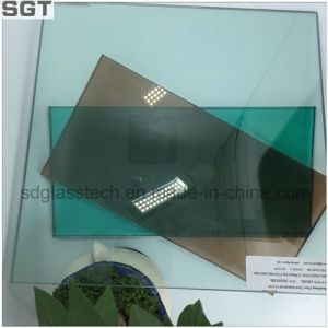 Toughened Laminated Tinted Glass Brown & Green pictures & photos