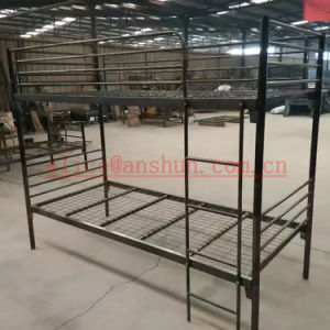 Sleeper Room Furniture Metal Triple Bunk Beds Dormitory Students Bunk Beds Jas-086 pictures & photos