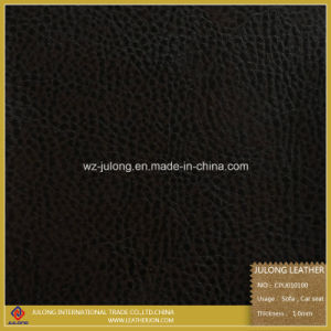 Printed Eco-Friendly PU for Sofa (CPU010) pictures & photos