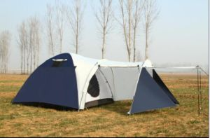 High Quality 4 Person Camping Tent, Camping Tent with Drawing Room pictures & photos