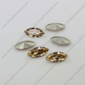 17*32mm Crystal Jewelry Stone with Point Back for Necklace Jewelry Accessories pictures & photos