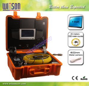 Witson Pipe Plumbing Inspection Camera with Digital Meter Counter (W3-CMP3188DN-T) pictures & photos