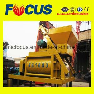 Twin Shaft Js1000 Concrete Mixer on Promotion pictures & photos